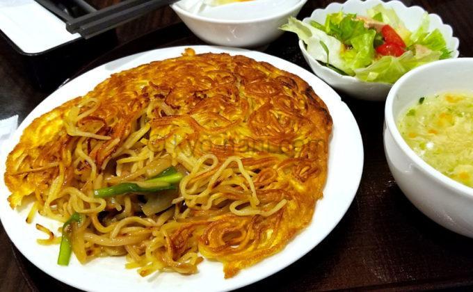中華料理梅蘭松下IMP京橋店の梅蘭やきそば