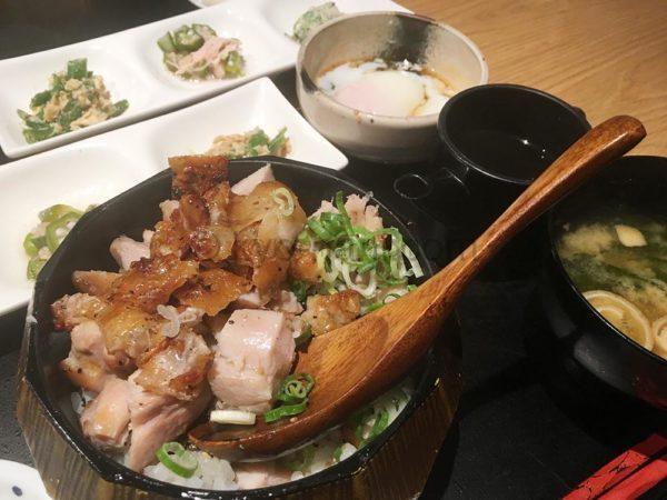 鶏とお野菜 はーばーどのランチ「 鶏まぶしご膳」