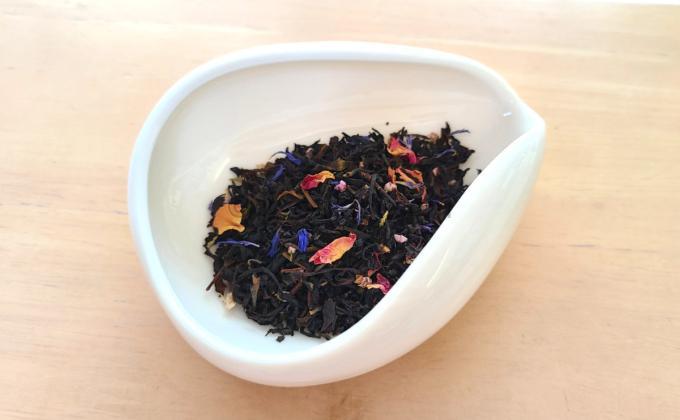 メルシーミルフォアの茶葉の写真