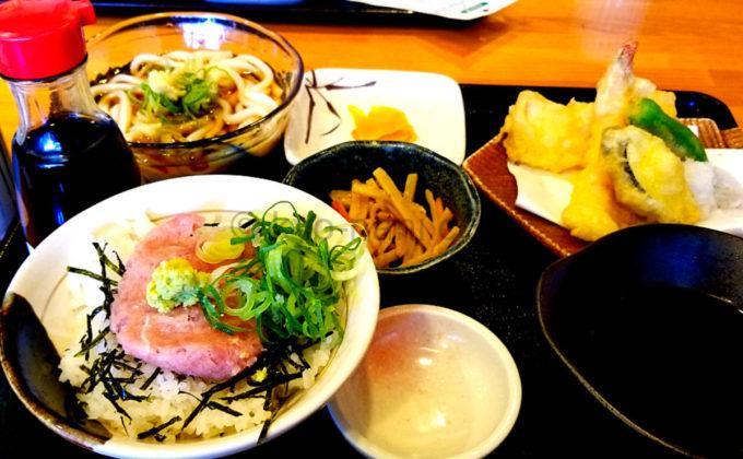 喜酔のランチ(ネギトロ丼)
