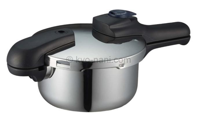 パール金属 の圧力鍋「クイックエコ2.5L」の写真